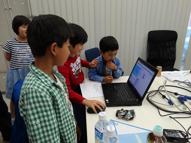 親子プログラミング教室