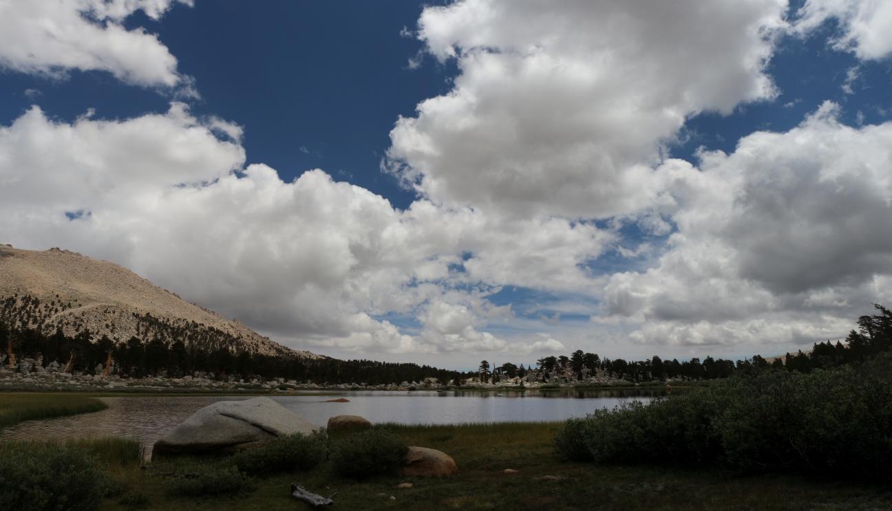 Cottonwood Lakes Elevation : Elevation of muah mountain california usa maplogs