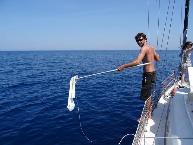 du plastique dans l'océan