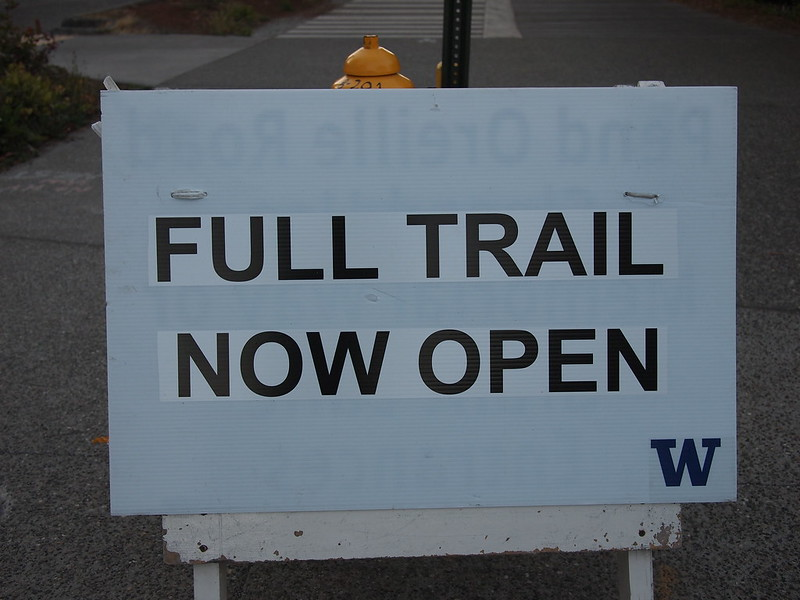 Burke-Gilman Trail: Open
