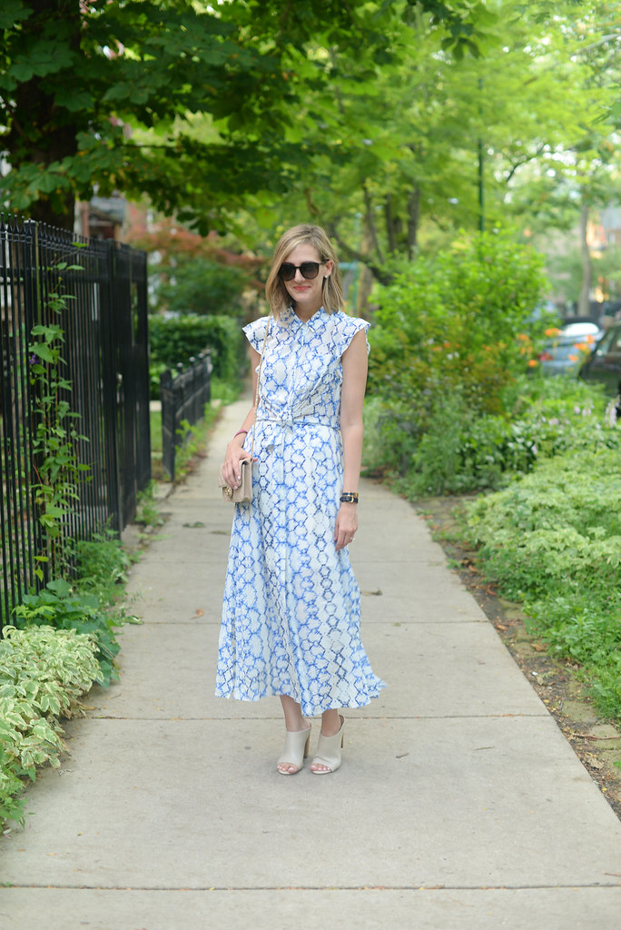 rebecca-taylor-tie-dye-maxi work outfit