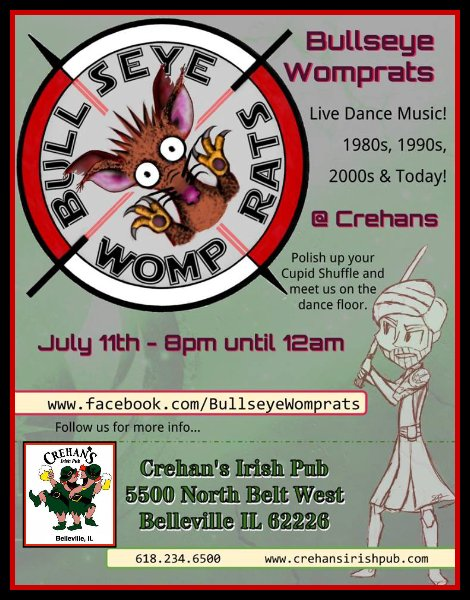 Bullseye Womprats 7-11-15
