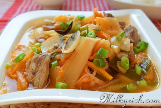 7 - Soup kimchi