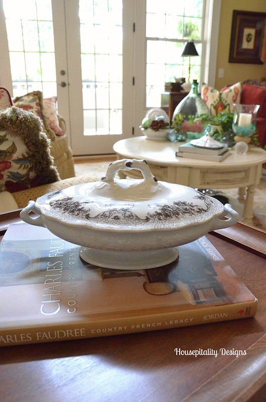 Ironstone/transferware tureen-Houspitality Designs