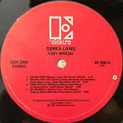 DEBRA LAWS:VERY SPECIAL(LABEL SIDE-A)