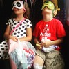 Resting on the train after shopping... #rest #blindfolded #izabelamotyl