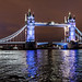 London's Tower Bridge at night by _Hadock_
