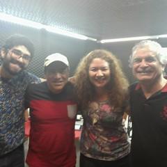 Com Thiago Almeida, Rogério Soares e Nelson Augusto... #programaCulturaeMusica  #BlogAuroradeCinemaregistra