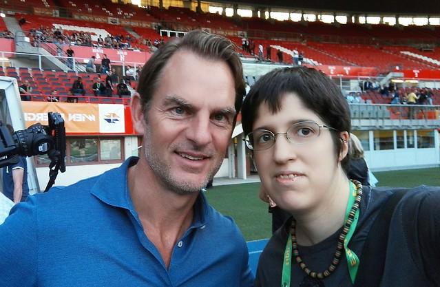 Selfie mit Ronald De Boer