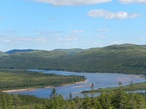 Labrador coastal drive - lookout voor Red Bay