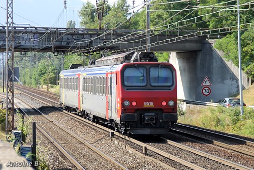 Z9516 livrée Bourgogne sur TER Rhône-Alpes