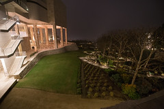 The Getty Center at night. December.