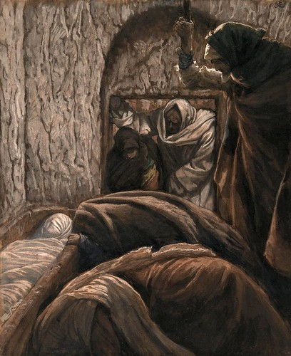 tissot, james jacques - The Life of Christ - Jesus in the Sepulchre