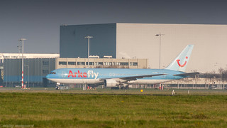Arkefly 767-300ER PH-AHQ resting at Schiphol Oost