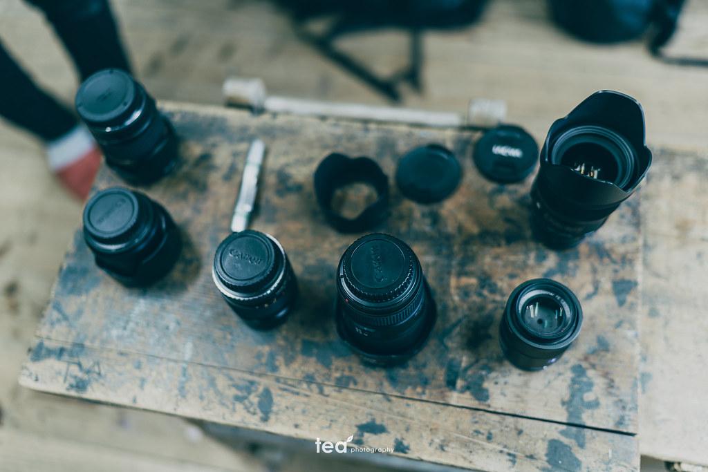 キノコのように生えたレンズ | α7RII + FE 35mm f1.4 ZA
