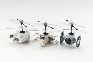 史上最小遙控直昇機「PICO-FALCON」將推出《星際大戰》經典載具版