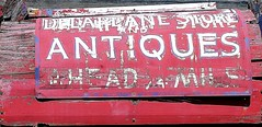 Antiques Store Sign (Delaplane VA 6-6-2015)