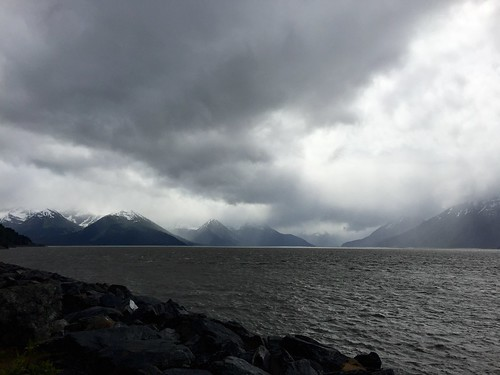 Rain on the Turnagain Arm