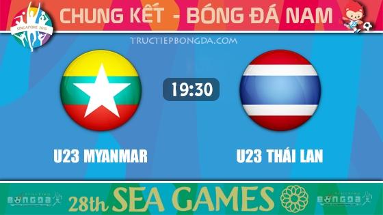 U23 Myanmar vs U23 Thái Lan