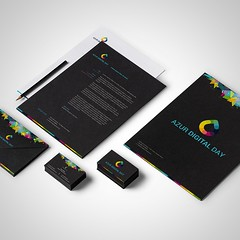 My lastest branding for an digital event. #branding #digitalevent #print #logo #graphism #graphicdesign #webdesign #website #css3 #buisnesscard #blog #news