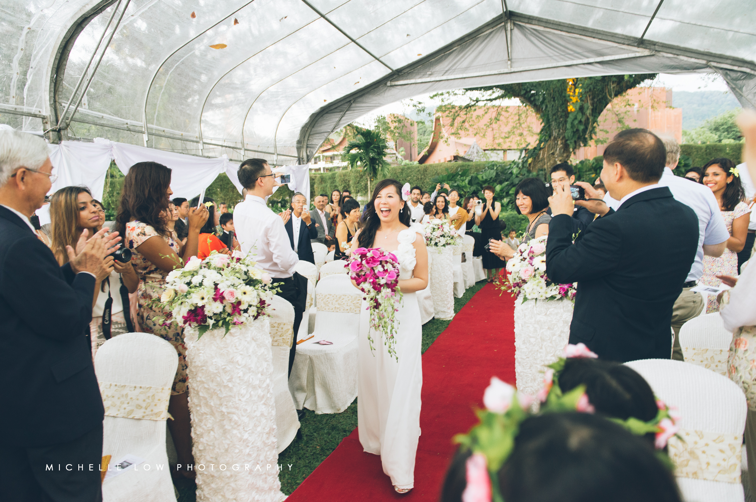 Tying the knot: Jun & En Qi
