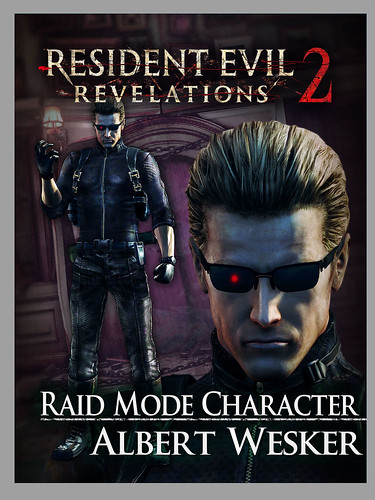 Resident Evil Revelations 2 on PS Vita: Raid Character Wesker