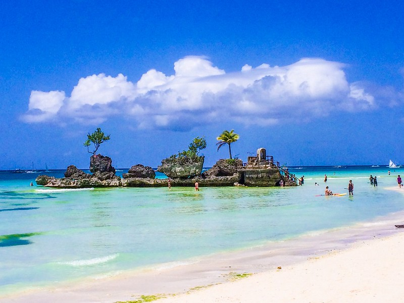 Boracay islands around the globe
