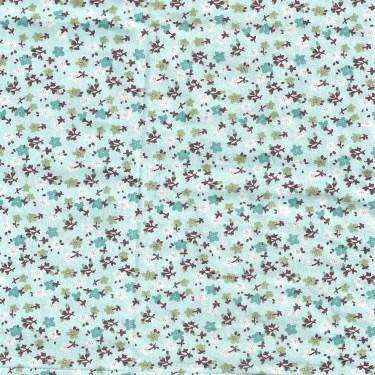 白小花 精梳棉床品床單布料 CA490222