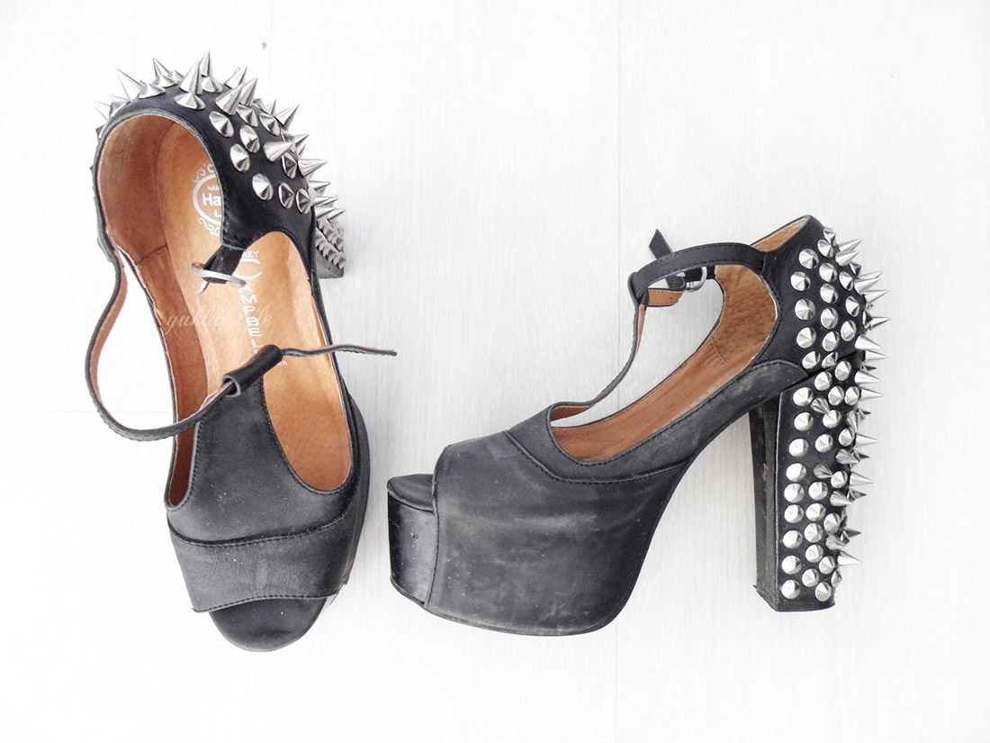 Jeffrey Campbell heels, flats, ankle boots, shoes