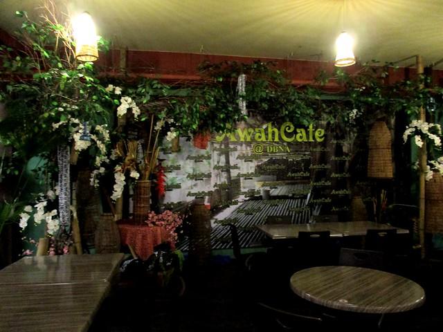 Awah Cafe stage