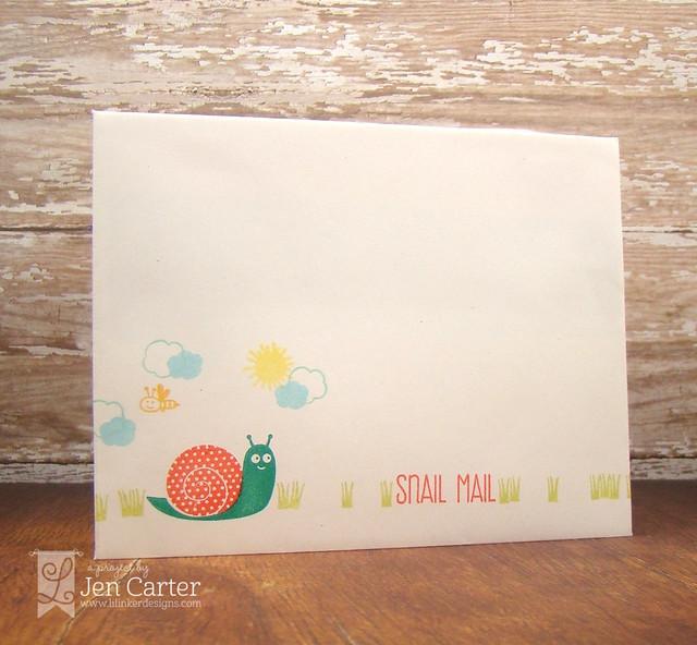 Jen Carter Snailed It Hello Envelope 1.1
