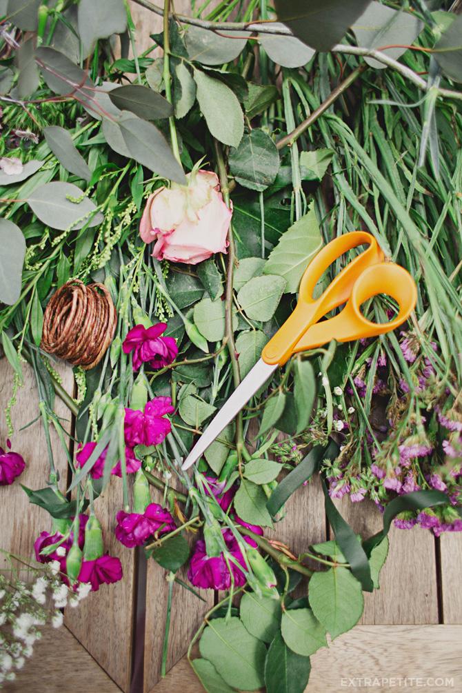 flower crown materials
