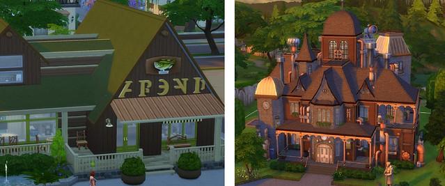 Sims  Stuck Building Lot