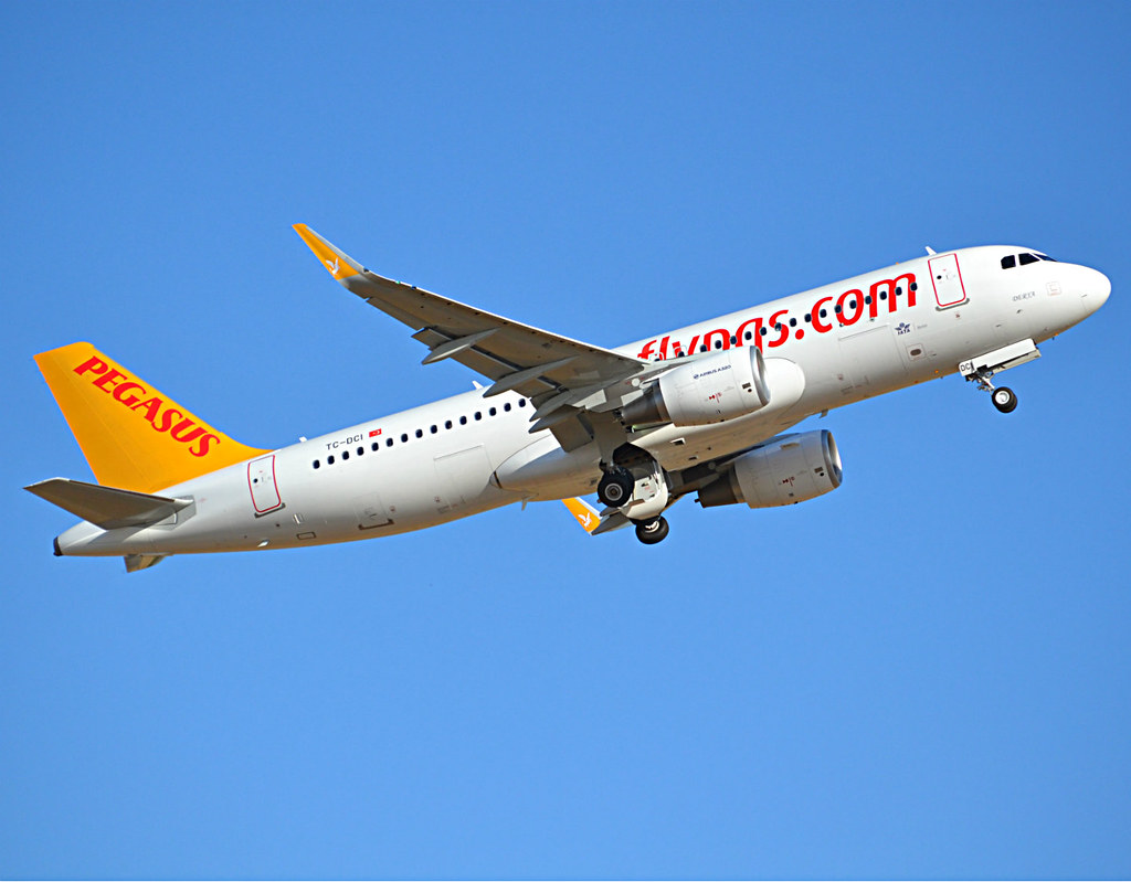 TC-DCI - A320 - Pegasus Airlines