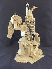 Lego Baphomet Statute Tilted Right