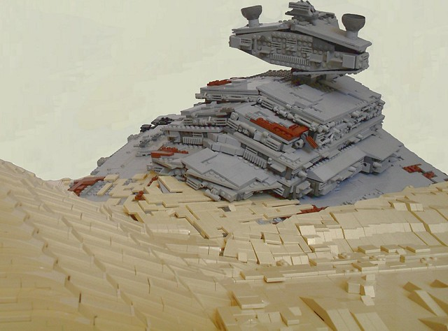 Episode VII-The Force Awakens-Apoca Star Destroyer on Jakku
