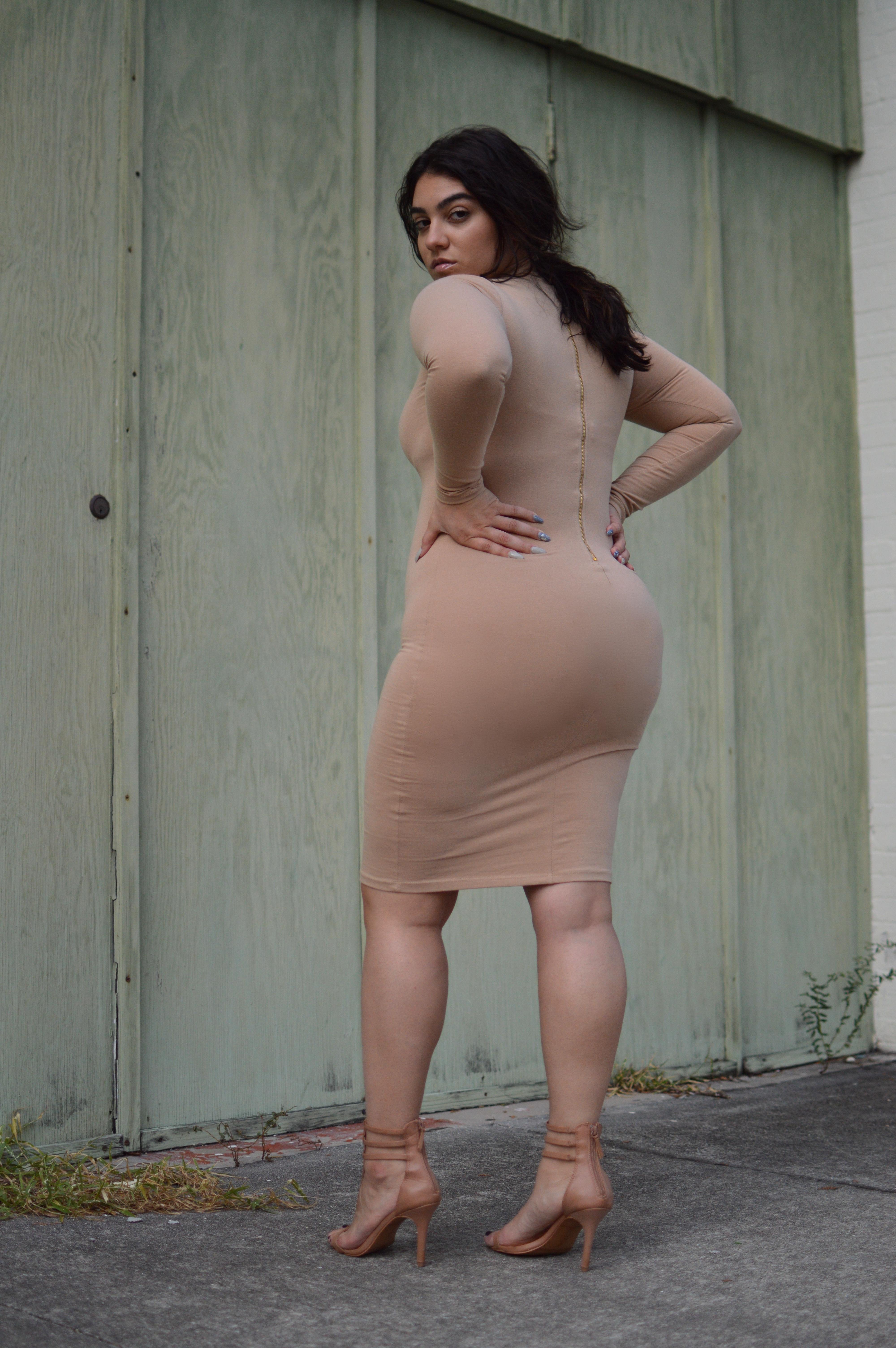cream dress nadia