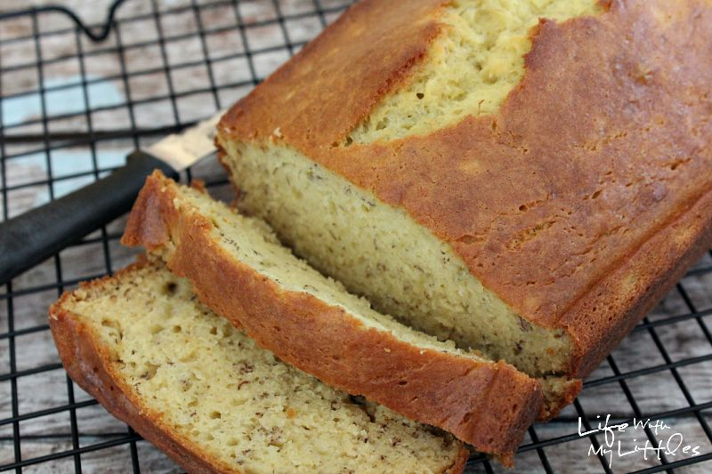 Dad's Banana Bread: An easy, classic recipe for the perfect banana bread.