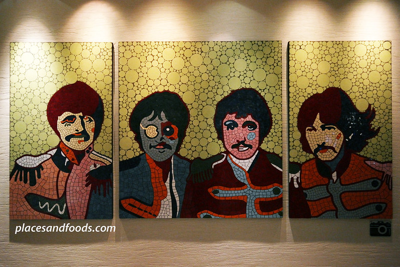 hard rock hotel penang beatles painted portraits