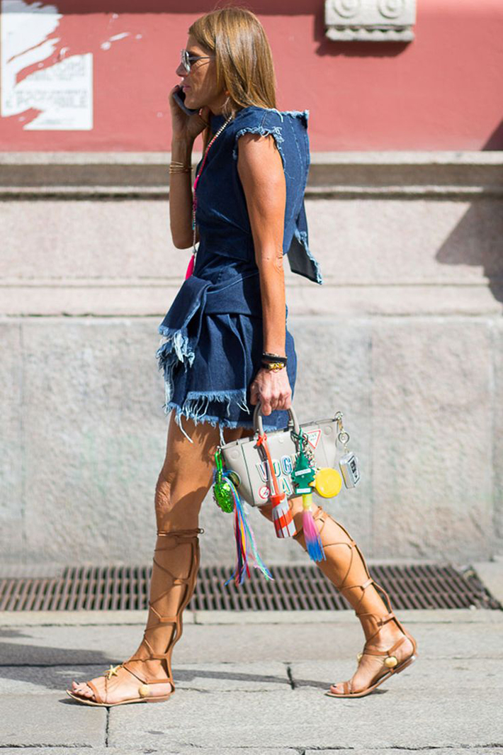 Gladiator Sandals Outfits Streetstyle Summer6