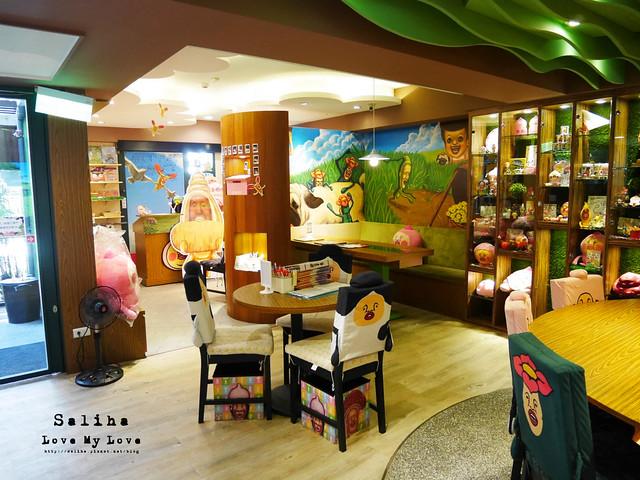台北東區主題餐廳醜比頭的秘密花園輕食咖啡屁桃 (23)
