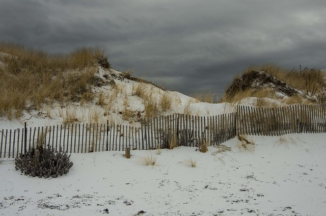Ogunquit Beach In Winter