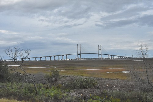 georgia bridge landscape brunswickriver