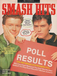 Smash Hits, December 16, 1987