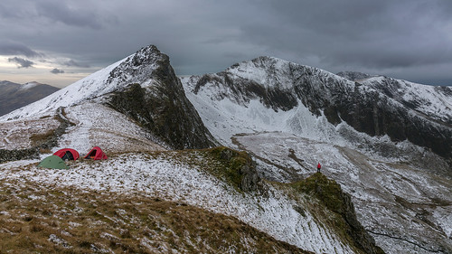 'Winter Wildcamp' - Nantlle Ridge, Snowdonia