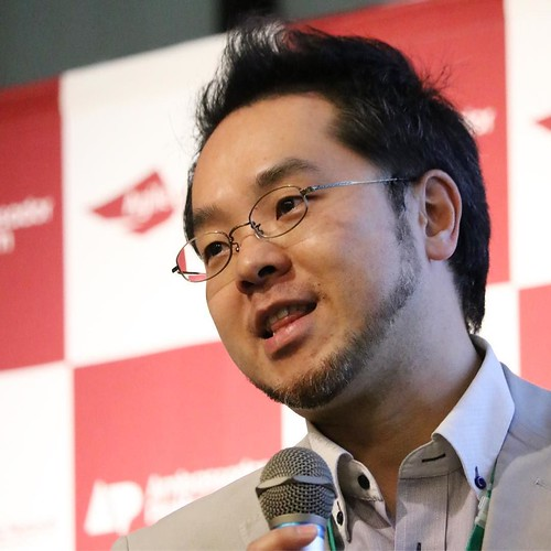 ベンキュージャパンの洞口氏。アンバサダー企画、僕も参加しています。 #アンバサダーサミット