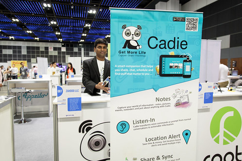 Cadie at Tech in Asia Singapore 2015