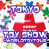 On the way to #tokyo #ToyFair #WorldToyTour #Japan look for updates and live video on Twitter/Periscope