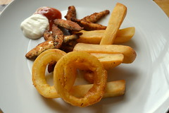 Deep Fried Whitebait, Triple Cooked Chips, Beer Ba…