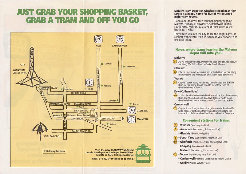 How to go shopping by public transport in Malvern and surrounding suburbs (1992) - 2/2